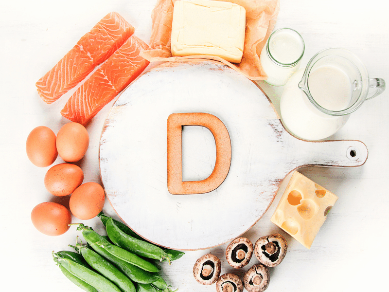 Food sources of Vitamin D3