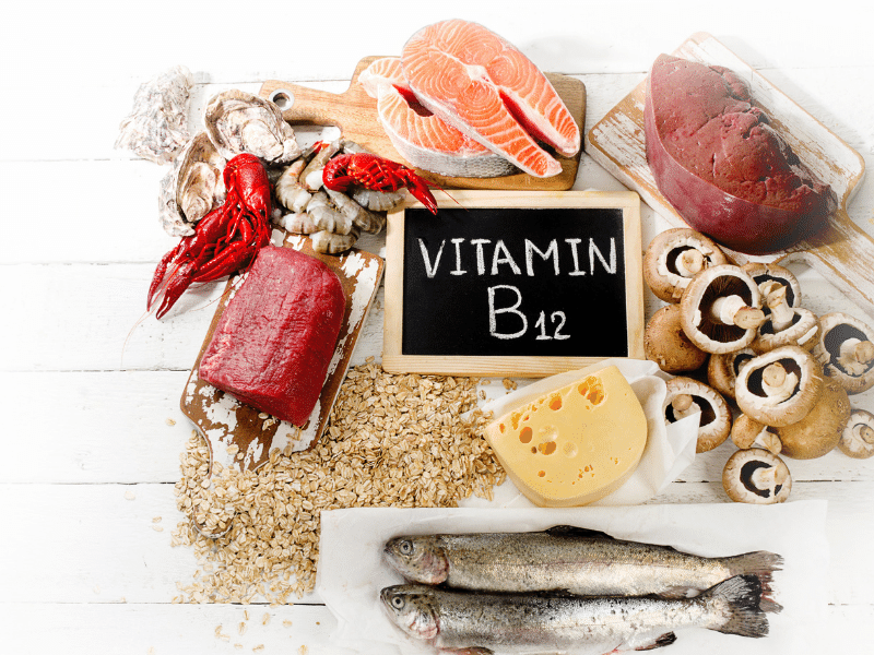 Food sources of Vitamin B12
