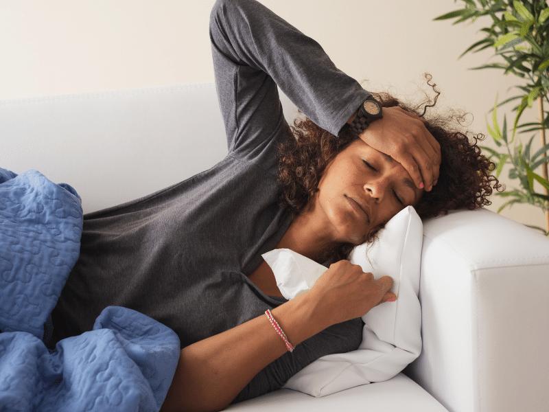 Is fever or fatigue a symptom of Malaria?