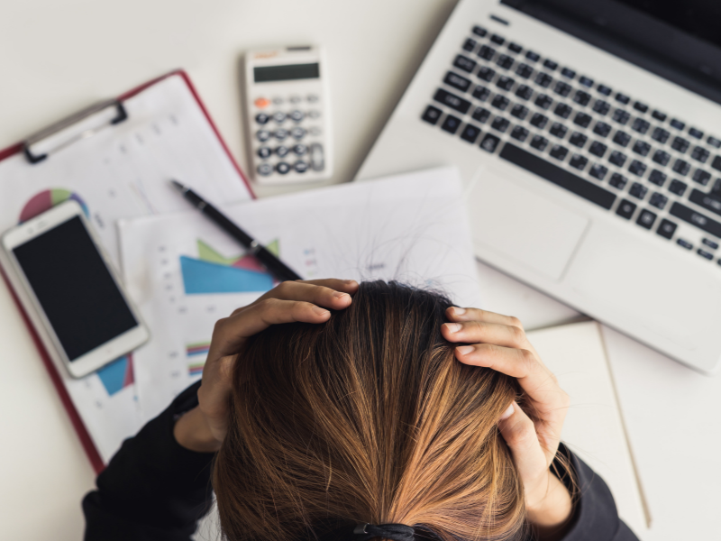 Can stress cause acidity?