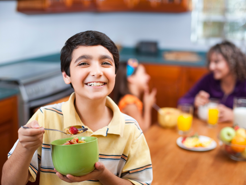 limiting the junk food for kids